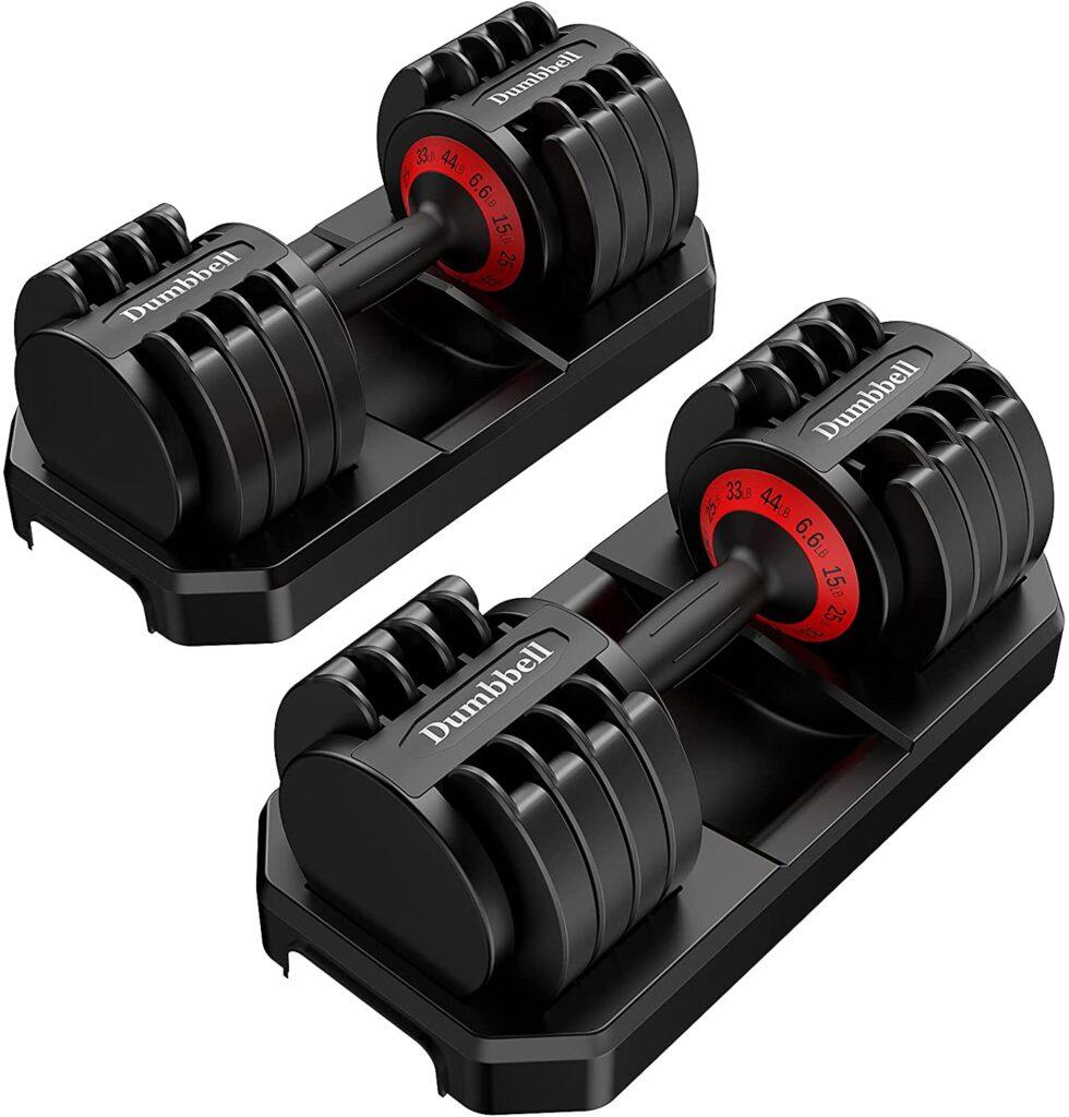 4 Best Adjustable Weight Dumbbells Of 2021